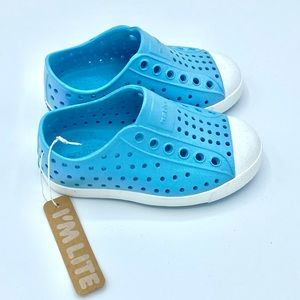 NATIVE Jefferson Light Blue Slip-On Shoes NEW